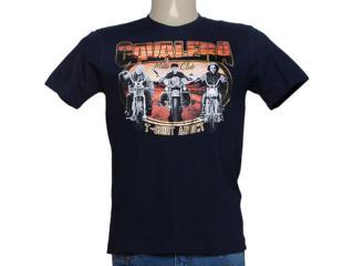 Camiseta Masculina Cavalera Clothing 01.01.7795 Navy - Tamanho Médio