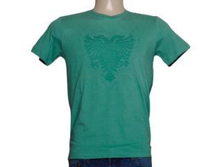 Camiseta Masculina Cavalera Clothing 01.01.7555 Verde - Tamanho Médio