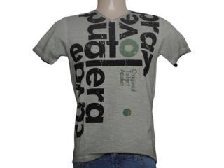 Camiseta Masculina Cavalera Clothing 01.01.7762 Verde Musgo - Tamanho Médio