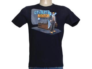 Camiseta Masculina Cavalera Clothing 01.01.7742 Navy - Tamanho Médio