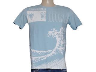 Camiseta Masculina Cavalera Clothing 01.01.7767 Celeste - Tamanho Médio