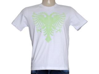 Camiseta Masculina Cavalera Clothing 01.01.7757 Branco - Tamanho Médio