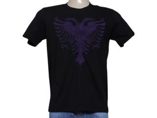 Camiseta Masculina Cavalera Clothing 01.01.7757 Preto - Tamanho Médio