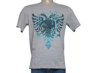 Camiseta Masculina Cavalera Clothing 01.01.8264 Aguia Mescla - Tamanho Médio