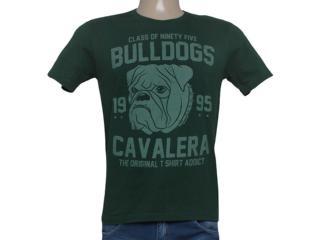 Camiseta Masculina Cavalera Clothing 01.01.8136 Verde Escuro - Tamanho Médio