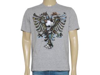 Camiseta Masculina Cavalera Clothing 01.01.8330 Mescla - Tamanho Médio
