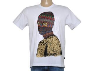 Camiseta Masculina Cavalera Clothing 01.01.8627 Branco - Tamanho Médio