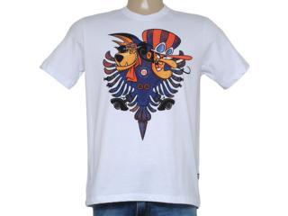 Camiseta Masculina Cavalera Clothing 01.01.8685 Branco - Tamanho Médio