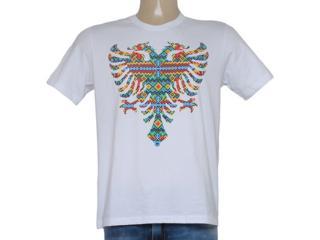 Camiseta Masculina Cavalera Clothing 01.01.8616 Branco - Tamanho Médio