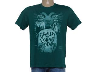 Camiseta Masculina Cavalera Clothing 01.01.8658 Verde - Tamanho Médio