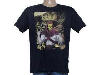 Camiseta Masculina Cavalera Clothing 01.01.8628 Marinho - Tamanho Médio