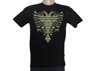 Camiseta Masculina Cavalera Clothing 01.01.8616 Preto - Tamanho Médio