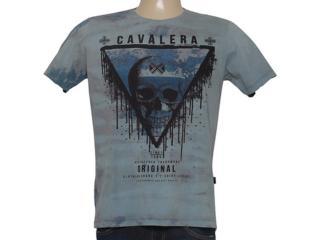 Camiseta Masculina Cavalera Clothing 01.01.8458 Cinza Estonado - Tamanho Médio