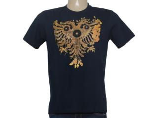 Camiseta Masculina Cavalera Clothing 01.01.8693 Marinho - Tamanho Médio