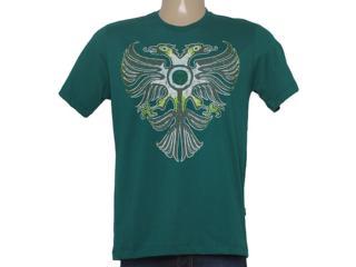 Camiseta Masculina Cavalera Clothing 01.01.8539 Verde - Tamanho Médio