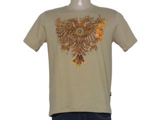 Camiseta Masculina Cavalera Clothing 01.01.8693 Caqui - Tamanho Médio