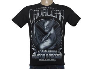 Camiseta Masculina Cavalera Clothing 01.01.8457 Preto - Tamanho Médio