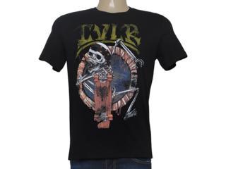 Camiseta Masculina Cavalera Clothing 01.01.8624 Preto - Tamanho Médio