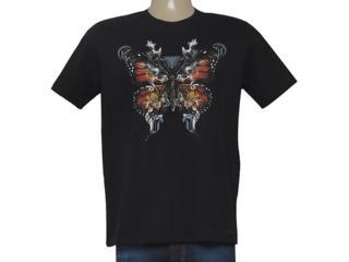 Camiseta Masculina Cavalera Clothing 01.01.8686 Preto - Tamanho Médio