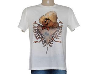 Camiseta Masculina Cavalera Clothing 01.01.8634 Off White - Tamanho Médio