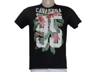 Camiseta Masculina Cavalera Clothing 01.01.8807 Preto - Tamanho Médio