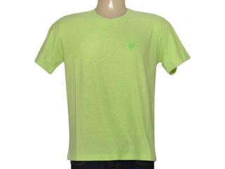 Camiseta Masculina Cavalera Clothing 01.01.7256 Verde Cidra - Tamanho Médio