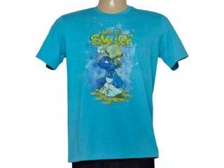 Camiseta Masculina Cavalera Clothing 01.01.6736 Azul - Tamanho Médio