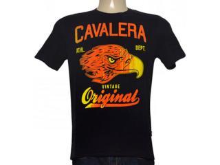 Camiseta Masculina Cavalera Clothing 01.01.8712 Preto - Tamanho Médio