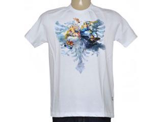 Camiseta Masculina Cavalera Clothing 01.01.8737 Branco - Tamanho Médio