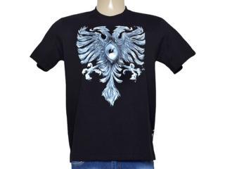 Camiseta Masculina Cavalera Clothing 01.01.8918 Preto - Tamanho Médio