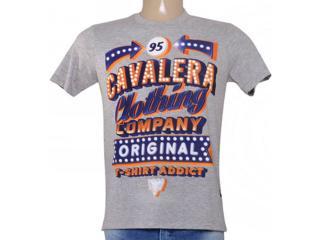 Camiseta Masculina Cavalera Clothing 01.01.8749 Mescla - Tamanho Médio