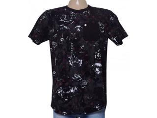Camiseta Masculina Cavalera Clothing 01.01.8946 Preto - Tamanho Médio