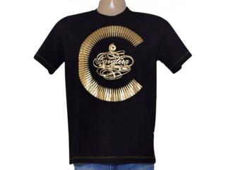 Camiseta Masculina Cavalera Clothing 01.01.9109 Preto - Tamanho Médio
