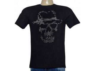 Camiseta Masculina Cavalera Clothing 01.01.8928 Preto - Tamanho Médio