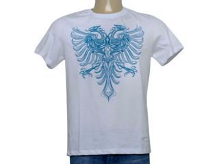 Camiseta Masculina Cavalera Clothing 01.20.0109 Branco - Tamanho Médio