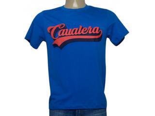 Camiseta Masculina Cavalera Clothing 01.20.0177 Royal - Tamanho Médio