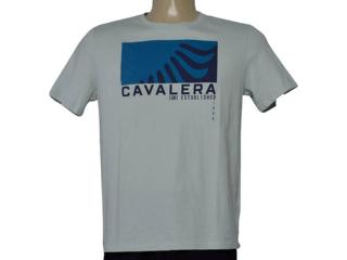 Camiseta Masculina Cavalera Clothing 01.20.0204 Gelo - Tamanho Médio