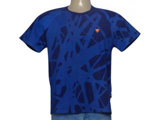 Camiseta Masculina Cavalera Clothing 01.01.9232 Azul - Tamanho Médio