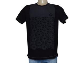 Camiseta Masculina Cavalera Clothing 01.01.9502 Preto - Tamanho Médio