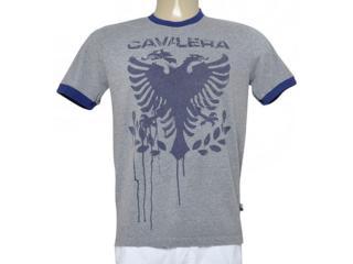 Camiseta Masculina Cavalera Clothing 01.01.9190 Mescla - Tamanho Médio