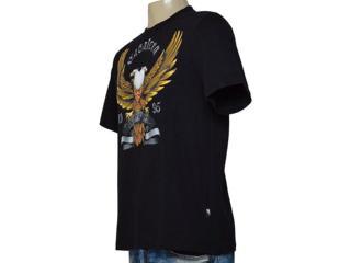 d3813e484 Camiseta Cavalera Clothing 01.01.9578 Preto Comprar na...