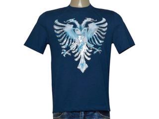 Camiseta Masculina Cavalera Clothing 01.01.9537 Azul - Tamanho Médio