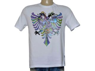 Camiseta Masculina Cavalera Clothing 01.01.9587 Branco - Tamanho Médio