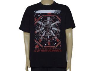 Camiseta Masculina Cavalera Clothing 01.01.9574 Preto - Tamanho Médio