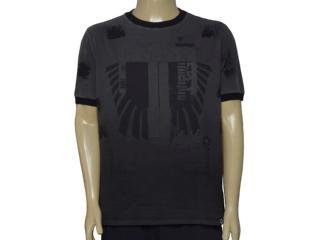Camiseta Masculina Cavalera Clothing 01.01.9625 Cinza - Tamanho Médio