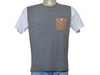Camiseta Masculina Cavalera Clothing 01.01.9701 Mescla - Tamanho Médio