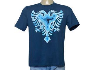 Camiseta Masculina Cavalera Clothing 01.01.9543 Azul - Tamanho Médio