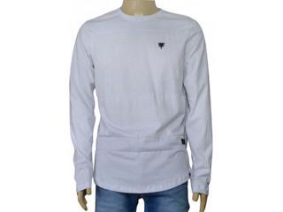 Masculina Camiseta Cavalera Clothing 01.02.0789 Branco - Tamanho Médio