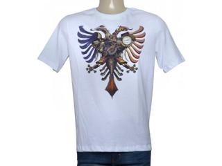 Camiseta Masculina Cavalera Clothing 01.01.9626 Branco - Tamanho Médio
