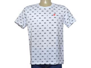 Camiseta Masculina Cavalera Clothing 01.20.0036 Branco - Tamanho Médio
